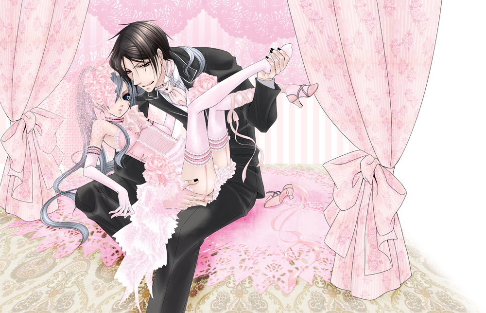 ciel and sebastian. Ciel and Sebastian