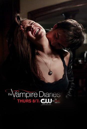 Damon bites Elena