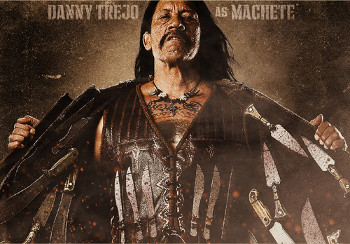 Machete wallpaper titled Danny Trejo as Machete