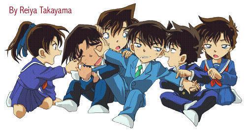Detective Conan Фан Art