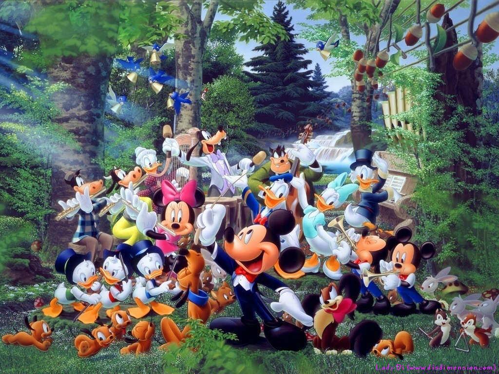 Disney Cartoon wallpap...