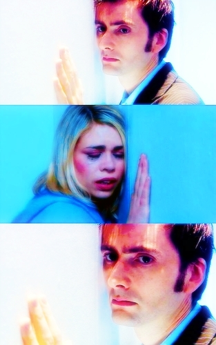 The Doctor and Rose wallpaper titled Doomsday