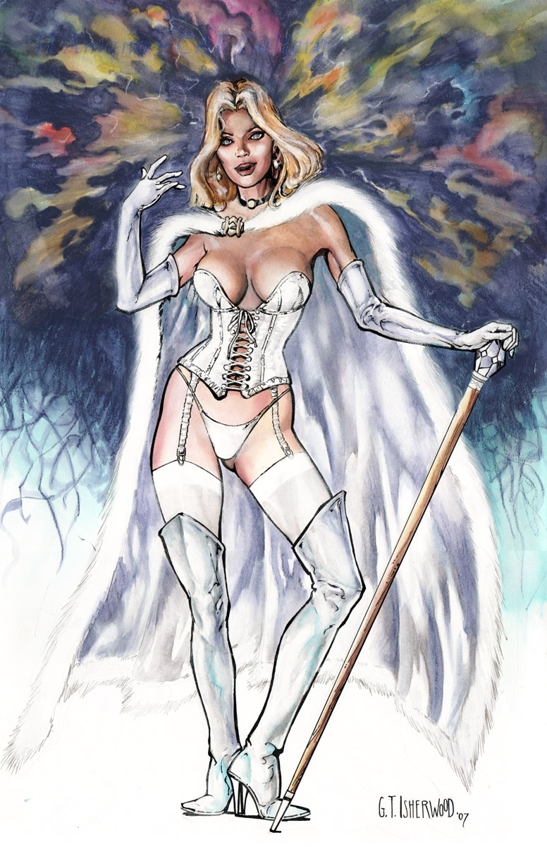 comics girls emma frost - photo #27