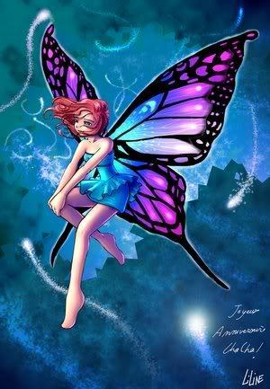 Fairies wallpaper titled Butterfly Fairy