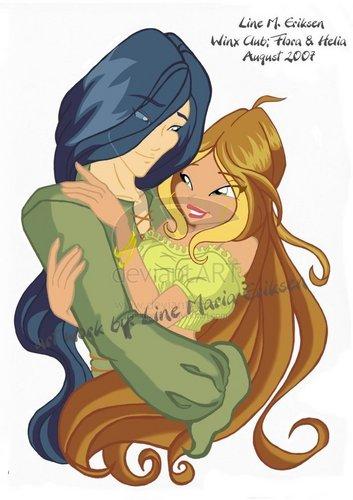 Flora and Helia < 3