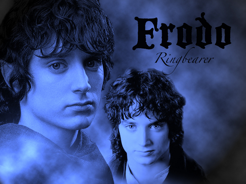 el señor de los anillos fondo de pantalla entitled Frodo