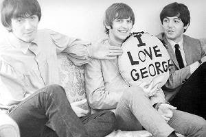 George, Paul, and Ringo