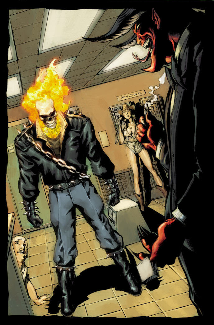how to become a ghost rider
