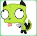 Gir Diguise<wolf> - invader-zim-fancharacters icon