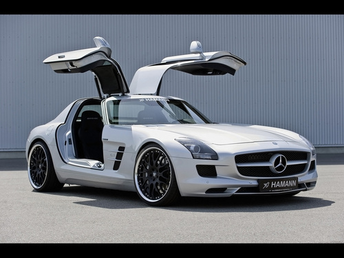 Mercedes-Benz wallpaper called HAMANN MERCEDES - BENZ SLK AMG