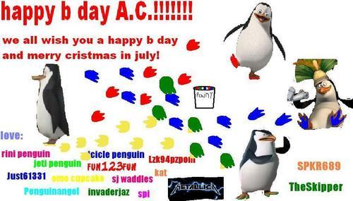 HAPPY B দিন A.C.