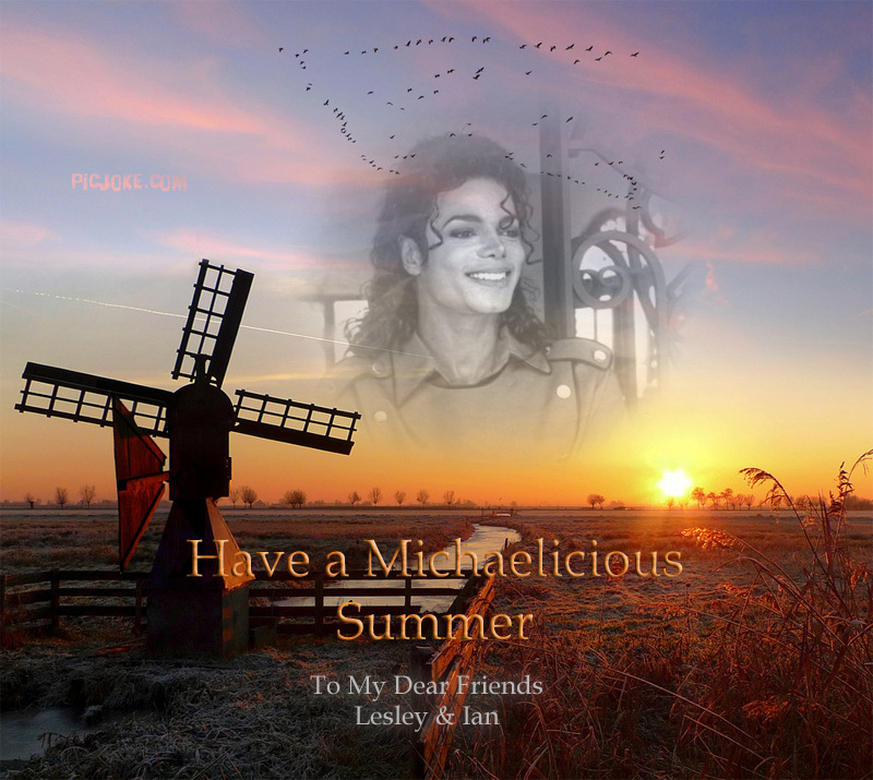 Have a Michaelicious Summer...
