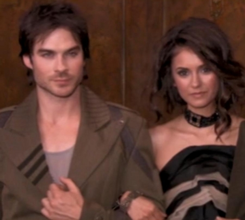 Ian &amp; Nina  - ian-somerhalder-and-nina-dobrev Photo