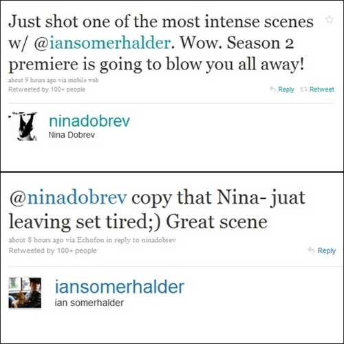 Ian & Nina - Twitter