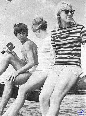 In Tahiti with George Harrison and Pattie Boyd