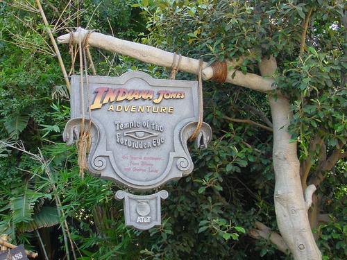 Indiana Jones the ride
