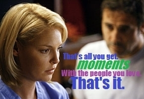"Izzie & Denny, ""Moments."""