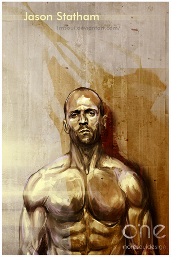 Jason Statham Hintergrund entitled Jason Statham Fan Art