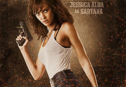 Machete wallpaper entitled Jessica Alba as Sartana