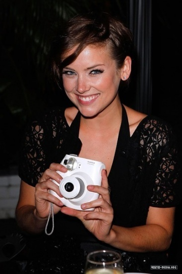 Jessica @ Mulberry L.A. Pool Party Bash - Jessica Stroup ...