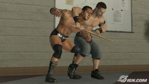 John Cena vs Batisa