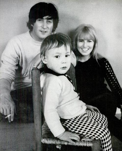 John, Cynthia, and Julian - cynthia-lennon Photo
