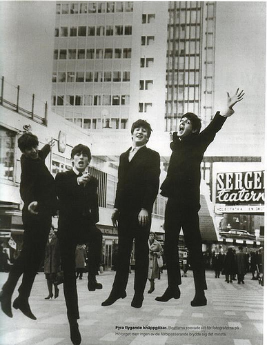 The Beatles images Jumping! wallpaper and background photos