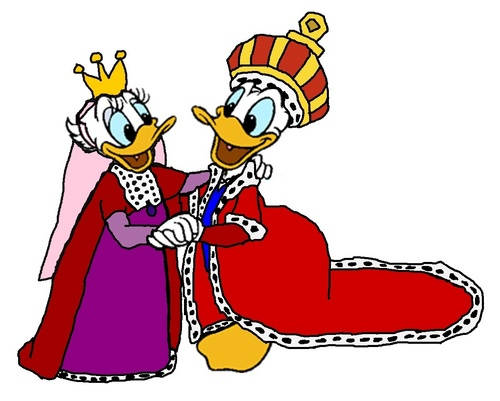 King Donald and Queen marguerite, daisy