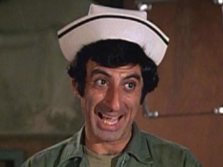 M*A*S*H* wallpaper entitled Klinger
