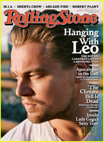 Leo DiCaprio: Shirtless for Rolling Stone