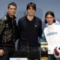 Lionel Messi Kaka Cristiano Ronaldo FIFA - lionel-andres-messi photo