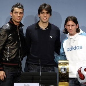Lionel Messi Kaka Cristiano Ronaldo FIFA