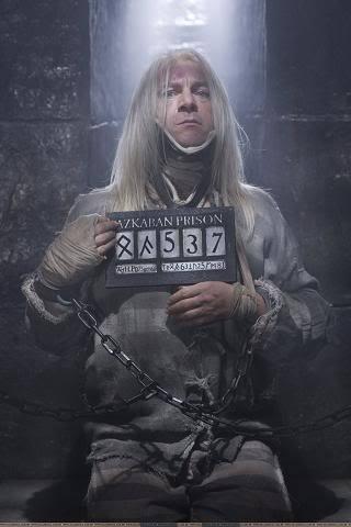 Lucius in Azkaban