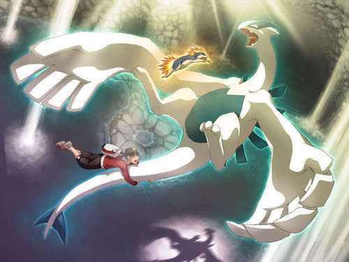 pokémon legendarios fondo de pantalla called Lugia