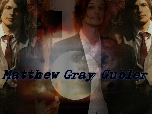 Matthew Gray Gubler Hintergrund entitled MGG