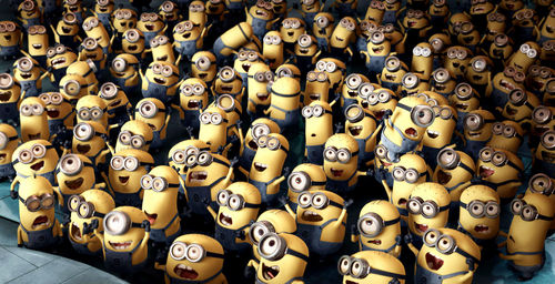 MINIONS, MINIONS, EVERYWHERE!