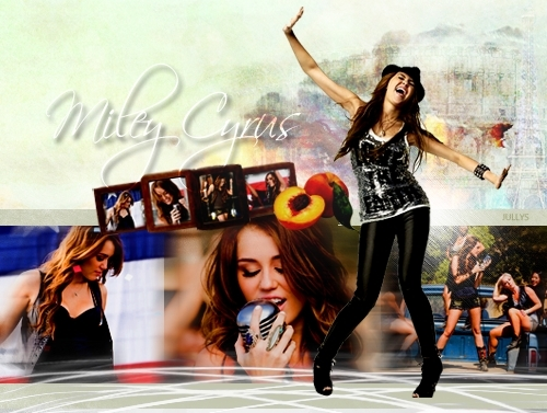 miley cyrus wallpaper titled MIley - jullysxo - twitter