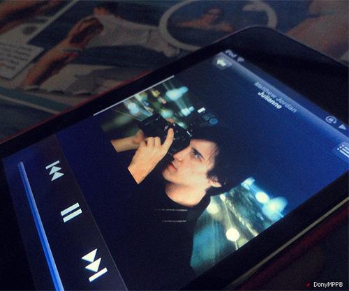 Matt on my IPHONE <3