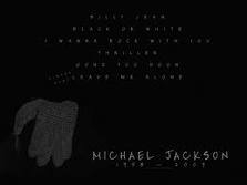 Michael jackson The sarung tangan One