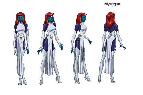 mystique x men wallpaper. Mystique - X-Men Evolution 500x333