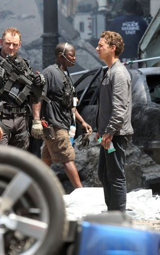 "On Set of ""Transformers 3"""