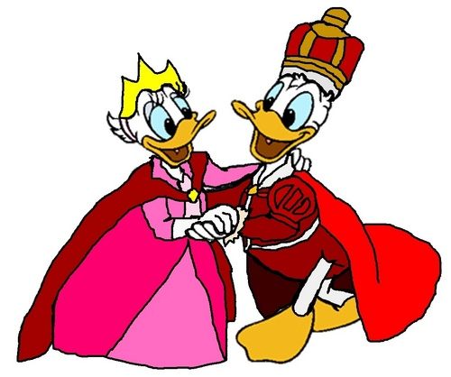 Prince Donald and Princess marguerite, daisy