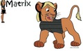 Request for izzysawesome: Matrix as a lion - total-drama-island fan art