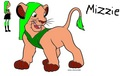 Request for lola641: Mizzie as a lion - total-drama-island fan art