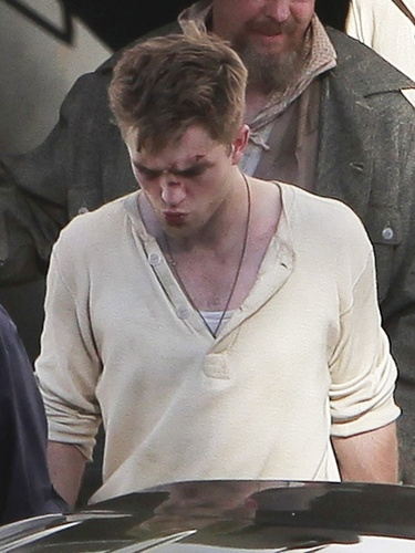 Rob on the set of WFE