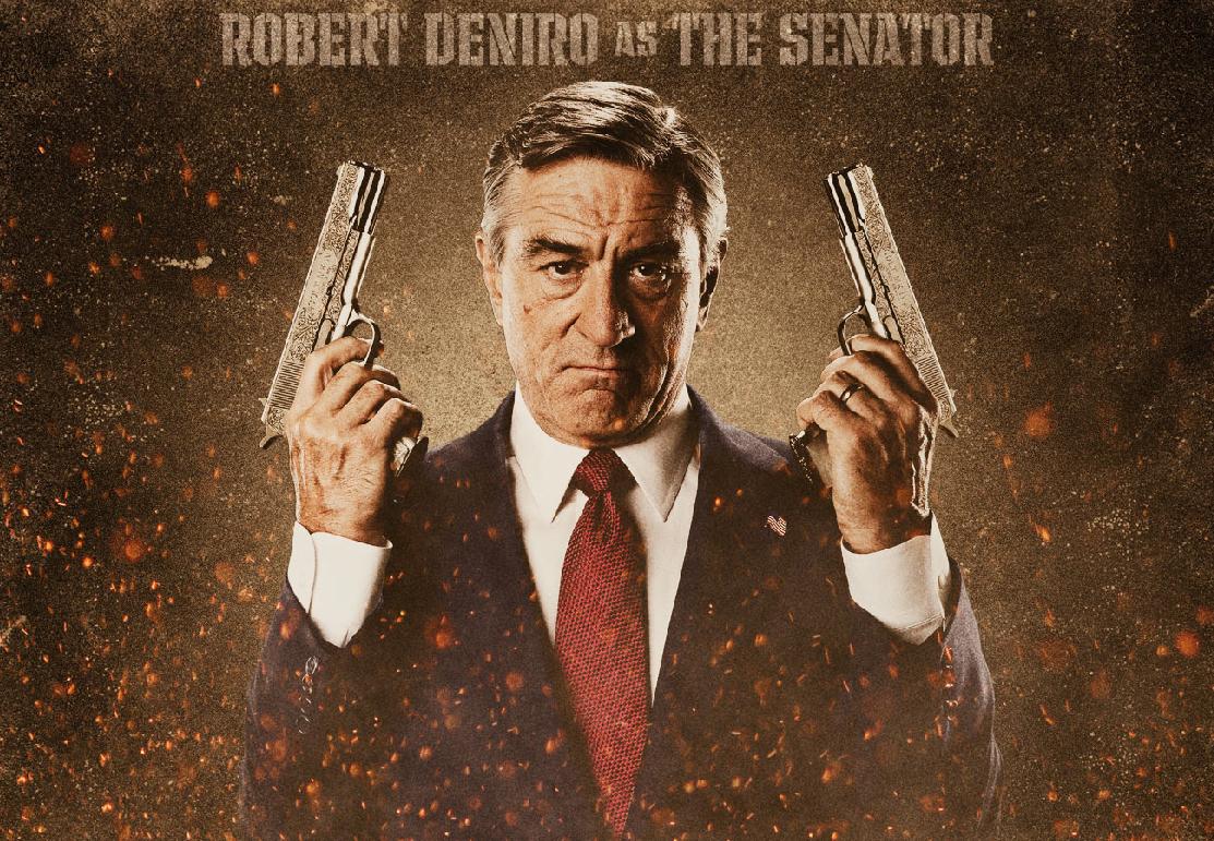 Robert DeNiro as Senator McLaughlin