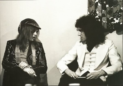 Roger Taylor and Brian May