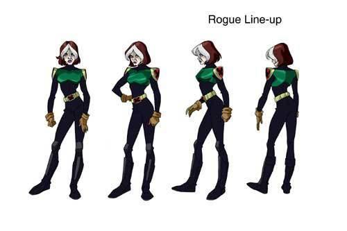 Rogue X Men Evolution Photo 14040864 Fanpop