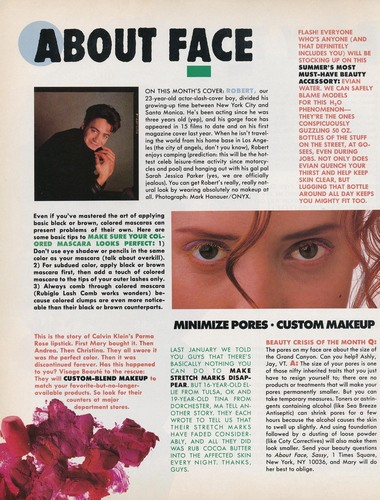 Sassy Magazine - July 1989