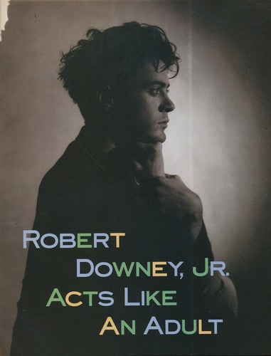 Robert Downey Jr. wallpaper entitled Sassy Magazine - July 1989
